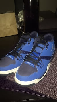 pair of blue-and-black Adidas sneakers Milwaukee, 53222