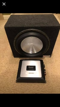 Sub and amp pioneer and Rockford power t1  Glen Burnie, 21061
