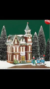 "Dept 56 ""Brighton School"" Brentwood, 37027"