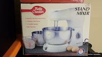 stainless steel and white stand mixer box Knoxville, 37921