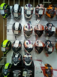 Casco moto integral decorado nuevo Barcelona, 08013