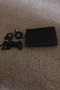 PS3 slim with HDMI cord and Controller all in one