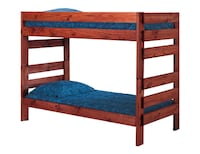 Twin over twin bunk bed with 2 Mattress Salem