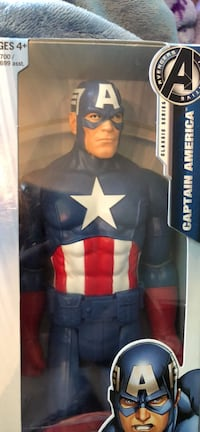 Titan Hero Series Captain America Blackwood, 08012