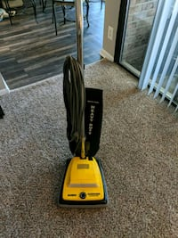 black and yellow upright vacuum cleaner Gaithersburg, 20878