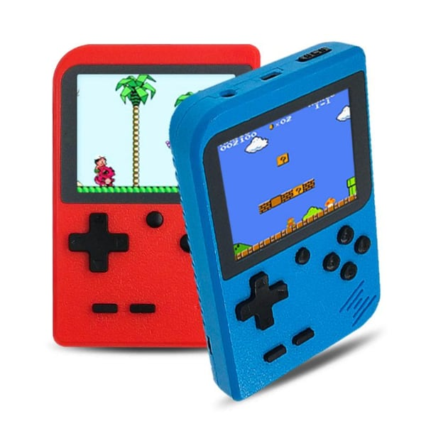 Retro Handheld Game Console with 500 Games Preloaded Like Mario Bros D
