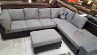 Brand new microfiber sectional sofa with ottoman  Silver Spring, 20902