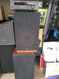 2 Fisher speakers with sony equalizer