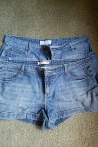 Maurice's and r 66 women shorts size 15/16 Blue Rock, 43720