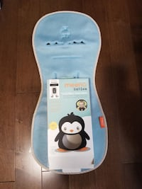 white and blue Fisher-Price learning toy null