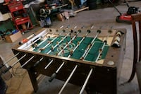 brown and green foosball table Northglenn, 80233
