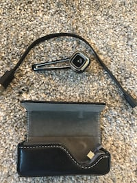 Plantronics Bluetooth Earpiece with Portable Charging Case