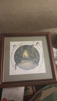Framed Art with saying