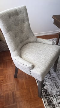 Brand new grey  dining chairs (set of two) Vaughan, L4H 0G8