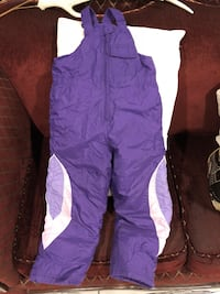 GIRLS SNOW BIB SNOW SUIT