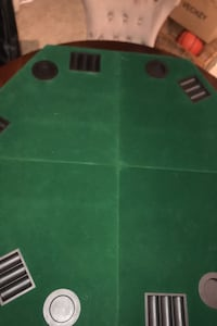 6 Person poker table