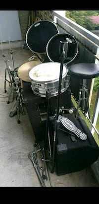 black and gray drum set District Heights, 20747