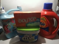 Laundry Lot Detergent fab softener oxiclean Greenbrier, 72058