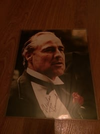 Hand Signed Autographed Picture of Marlon Brando (The Godfather) with COA Windsor, N8W 4V8