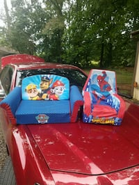 Kids paw patrol and spiderman chairs Russellville, 37860