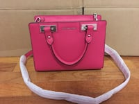 NWT! Michael Kors Small satchel Leather Ultra Pink Falls Church, 22043