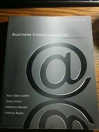 Business Communication: Process and Product Toronto, M6N 3W6