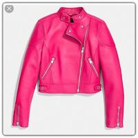 Coach Pink Leather Jacket Fayetteville, 17222