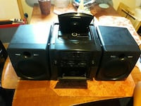 New never use Cd player with tape player Silver Spring