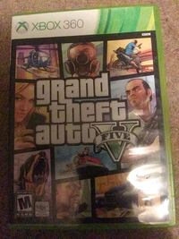 Grand Theft Auto Five Xbox 360 game case Watson, 70706