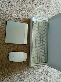 Apple keyboard, mouse pad and mouse Fairfax