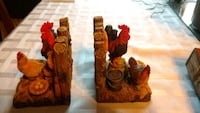 Rooster/chicken/farm themed bookends Edmonton, T6H 2X8