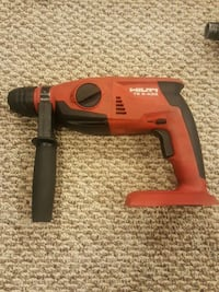 red and black Milwaukee cordless impact wrench Richmond, V6X 1C5