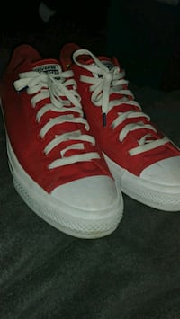 Red converse 11.5
