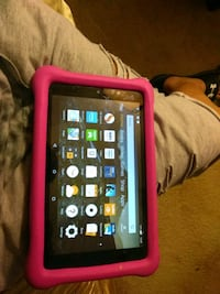black tablet computer with pink case Baltimore, 21218