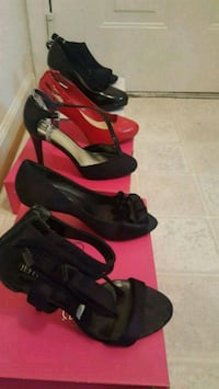 All size 8 1/2  worn only once. $75.00  for all 6  Lorton, 22079