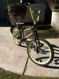 black and yellow BMX bike Vista, 92081