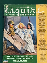 1944 Esquire The Magazine For Men. Great Condition with Vargo Girl Pull Out Santa Clarita, 91350
