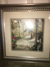 Framed wall art Alpine, 91901