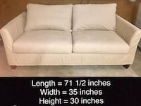 Light beige 2-seat couch