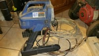 blue and gray corded power tool Los Angeles, 90063
