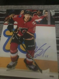 Calgary Flames Michel Backlund  8X10 picture Calgary, T2P