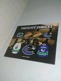 History of Canucks Wooden Plaque Burnaby, V3N 3H9