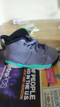 unpaired gray and green Air Jordan 6 Hagerstown, 21740