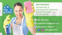 Commercial and residential cleaning Edmonton