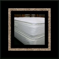 Twin mattress double pillowtop with box spring Adelphi