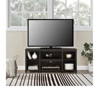 espresso colored tv stand * BRAND NEW !!!!! * never been used still in box ready to be assembled  65 km