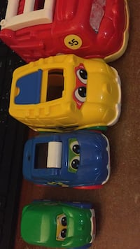 Fisher price car stacking toy. Vaughan, L4J 5L7