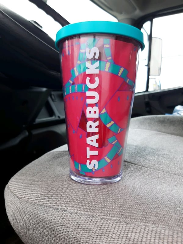Starbucks  watermelon cup rare and hard to find  de4ffdfb-dedb-4833-84a5-79f7fdd4c3cb