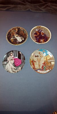 Norman Rockwell/Ringling Bros..Collector Plates