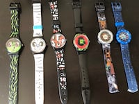 Several types of children watches-SWATCH-working perfectly, new battery installed. Price range $10-$30. Ottawa, K2H